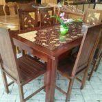 Meja Makan Minimalis 6 Orang