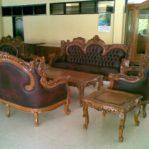 Sofa Minimalis Jati