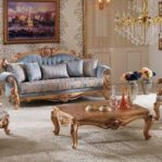 Sofa Ukiran Jepara Klasik