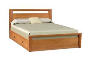 Tempat Tidur Minimalis 2 Laci