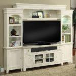 Lemari TV Minimalis Putih