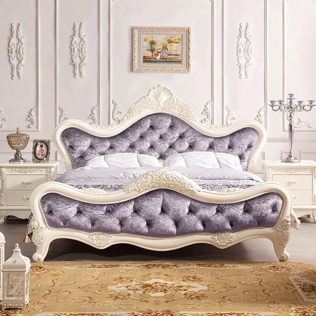Tempat Tidur Mewah Ukiran Kerang