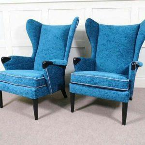 Kursi Sofa Modern Biru