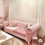 Sofa Minimalis Modern Pink