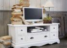 Bufet TV Klasik Putih