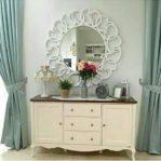Meja Cermin Dinding