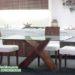 Meja Makan Mewah Kaca
