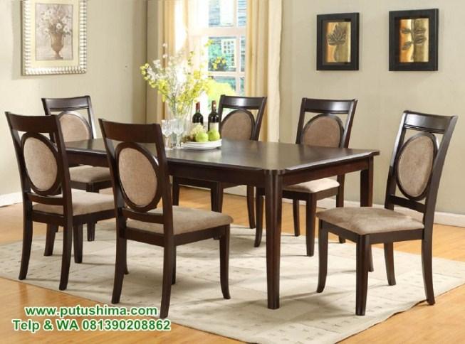Meja Makan Minimalis Jogja Putushima Furniture
