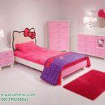 Kamar Set Anak Hello Kitty Pink