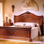 Jual Tempat Tidur Jati Modern