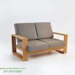 Kursi Sofa Santai Jati Minimalis