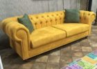 Kursi Sofa Minimalis Chester Yellow