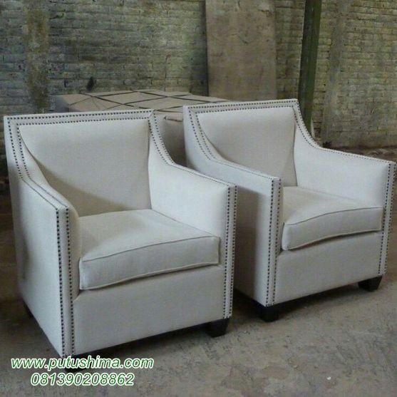 Kursi Sofa Single Mewah