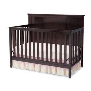 Tempat Tidur Bayi Jati Minimalis