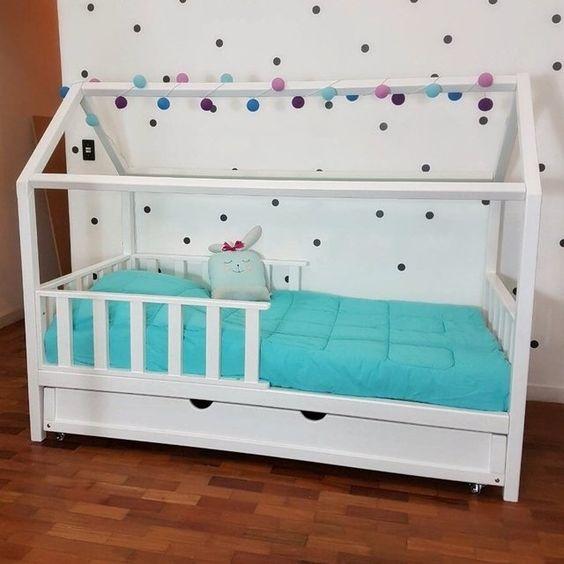 Tempat Tidur Bayi Minimalis Kelambu