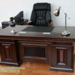 Meja Kantor Minimalis Jati