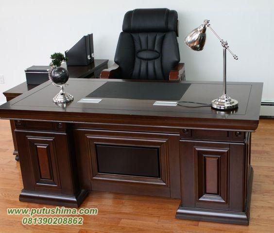 Meja Kantor Minimalis Jati, jual Meja Kantor Minimalis Jati, harga Meja Kantor Minimalis Jati