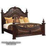 Tempat Tidur Jati Ukiran Raja