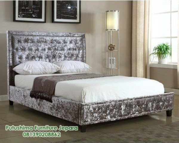 Dipan Tempat Tidur Mewah Minimalis