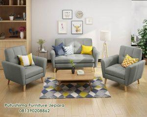Sofa Minimalis Retro Modern
