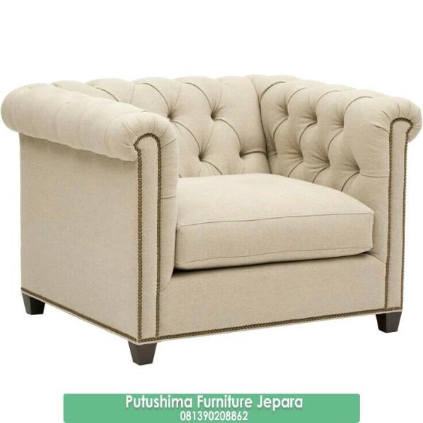 Jual Sofa Single Minimalis Chester