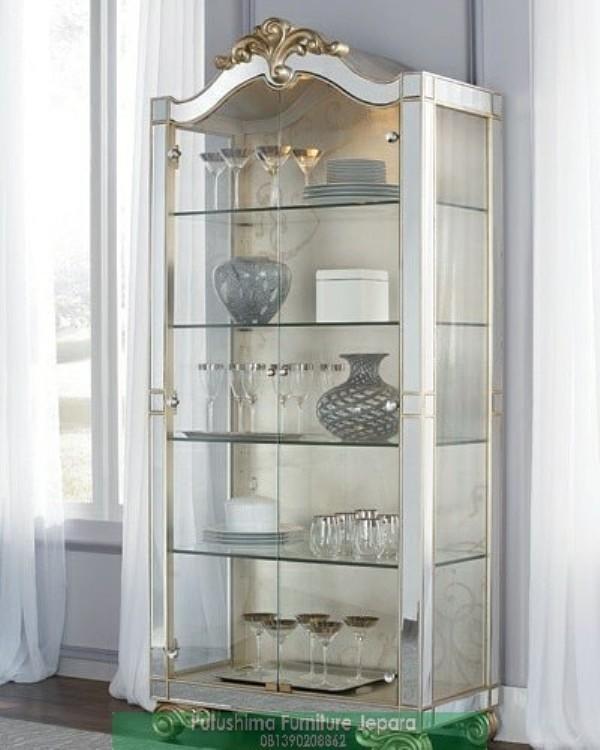 Lemari Hias Klasik Mirror