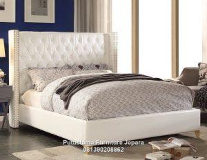 Tempat Tidur Modern Ivory