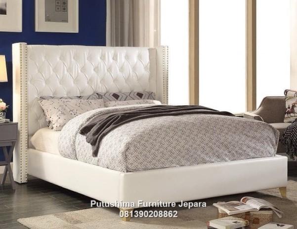 Jual Tempat Tidur Modern Ivory