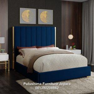 Tempat Tidur Modern Model Salur