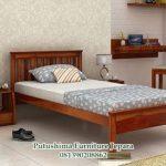 Tempat Tidur Minimalis Single Jati