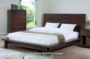 Tempat Tidur Super King Jati Murah