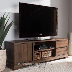 Meja TV Jati Modern